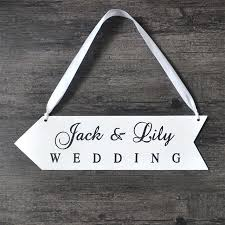 Personalized Names Aliexpress Com Buy Personalized Names Wood Board Wedding Sign