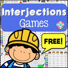 Worksheets On Interjections Interjections Games Free U2013 Games 4 Gains