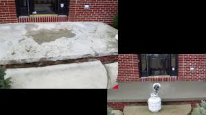 Concrete Patio Resurfacing Products by How To Resurface Concrete Concrete Pitt Repair Salt Damage