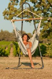 comfort galore in this free standing hammock chair hammock and