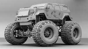 futuristic jeep hardsurfaces cgfeedback