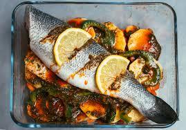 de cuisine marocaine recette du poisson au four façon tajine les délices d amal