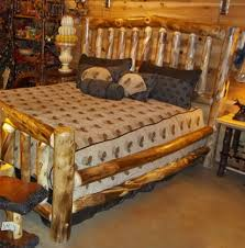 log bedroom furniture log furniture log bed with drawers rustic bed cabin decor