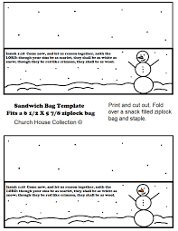 snowman sunday lesson