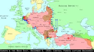 Map Of World War 1 by Wwi Centennial Fall Of Bucharest Lloyd George To Pm Mental Floss