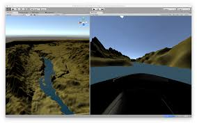 day 1 building a 3d game using geo data hobby project