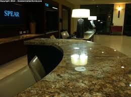 Granite Reception Desk with Cleaning Granite Counters Image