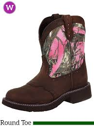 s boots justin justin boots s justin pink camo boots l9610