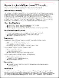 hygiene resume skills