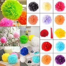 Yellow Pom Pom Flowers - online get cheap tissue pom poms aliexpress com alibaba group