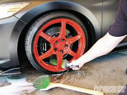 Anodised Spray Paint Wheel Cleaning Proven European Car Magazine