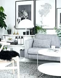 idée canapé salon 2 canapes salon noir gris blanc canape d angle gris salon noir