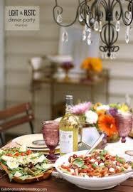 Summer Entertaining Menu - summer dinner party menus summer dinner parties summer dinner