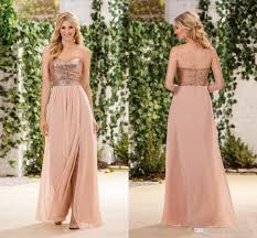 sweetheart country bridesmaid dresses jasmine rose gold sequins