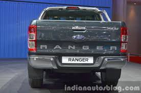 ford ranger 2015 2015 ford ranger rear at the 2015 bangkok motor show indian