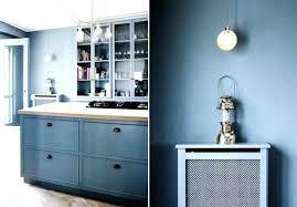 blue color kitchen cabinets blue color kitchen cabinets blue wall paint and wood kitchen