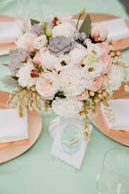 party centerpieces for tables christening party by sooti blush centerpiece 50th wedding