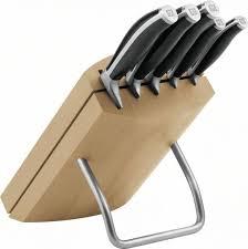 bloc de couteaux de cuisine professionnel zwilling henckels cuisine bloc de couteaux nature 6pcs