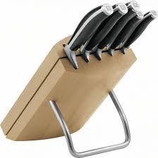 bloc de couteaux de cuisine zwilling henckels cuisine bloc de couteaux nature 6pcs