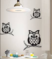 wall pops wpk96848 peel u0026 stick give a hoot small wall art kit