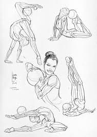 laura braga anatomical studies and sketches