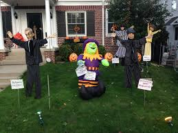 wilmette political halloween house is open wilmette life