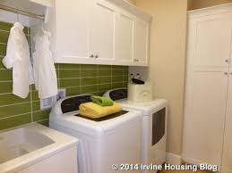Laundry Room Cabinet Height A Review Of The Strada Tract At Orchard Irvine Housing