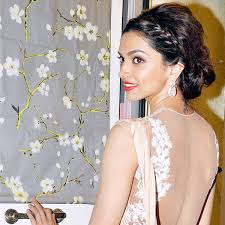 bollywood actress deepika padukone who got the initials of her