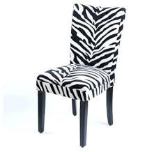 Zebra Dining Chairs Charming Zebra Print Dining Chair Starlize Me