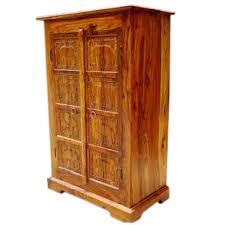 solid wood kitchen furniture wood kitchen corner storage armoire cabinet