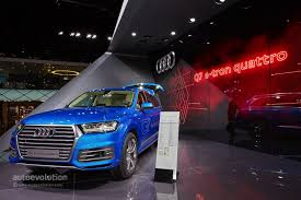 Audi Q7 Diesel - 2016 audi q7 e tron diesel phev is the world u0027s most efficient