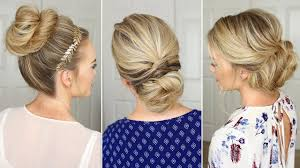 3 stunning updos that you can do on yourself hair tutorial