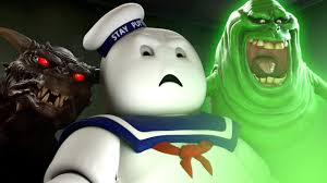 Stay Puft Marshmallow Man Meme - marshmallow man reacts to ghostbusters trailer youtube