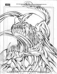 venom sketch by okarusekai on deviantart