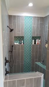 Master Bathroom Shower Tile Ideas by Best 25 Wood Tile Shower Ideas Only On Pinterest Large Style