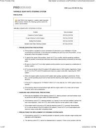 lexus zero point calibration procedure steering 20initialization pdf steering gear