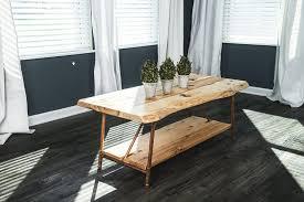 live edge slab furniture u2022 nifty homestead