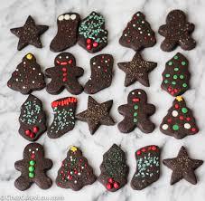 christmas chocolate chocolate shortbread cookies chez cateylou
