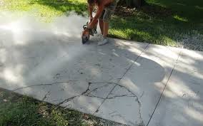 How To Fix Cracks In Concrete Patio Decoration How To Repair An Old Cracked Cement Patio E And How To