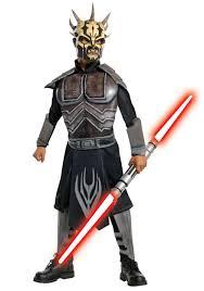 Anakin Skywalker Halloween Costume Child Clone Wars Deluxe Savage Opress Costume