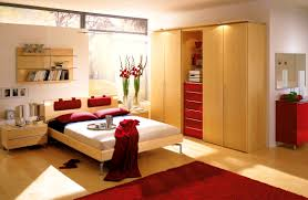accessories gorgeous home design red bedrooms bedroom wall