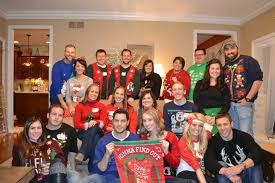 just a country our first ugly christmas sweater party