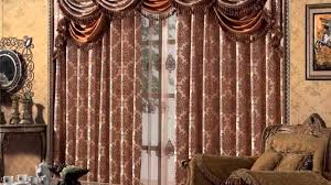Bay Window Curtains For Living Room Bay Window Curtain Rod Youtube
