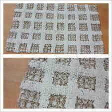 Mini Pebble Wool Jute Rug Attractive Jute Bath Mat Chunky Wool Jute Rug Natural Pottery Barn