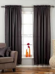 black rod pocket 90 blackout curtain drape panel piece