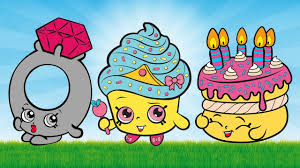 shopkins coloring pages videos shopkins video for kids cupcake queen birthday cake shopkins
