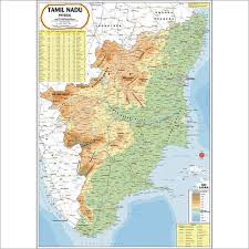 tamil nadu map tamil nadu physical map tamil nadu physical map exporter
