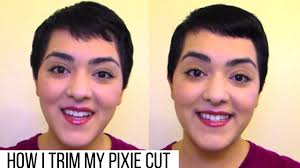 cut your own pixie haircut how i trim my pixie cut laura neuzeth youtube