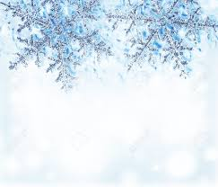 snowflake blue decorative border beautiful blue cold frozen