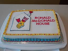 ronald mcdonald house cakecentral com